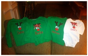 Reindeer shirts