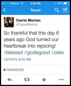 Zeke-Dec 10 Tweet