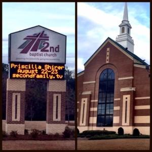 psl - church sign